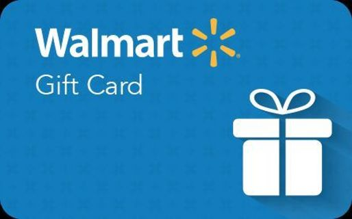 Walmart gift card $10.00