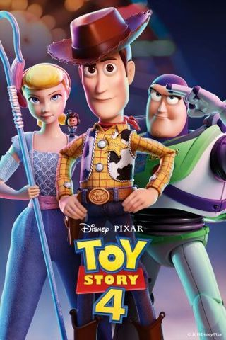 Toy Story 4 HD iTunes Digital Code