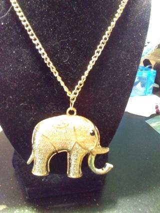 Beautiful Elephant Necklace