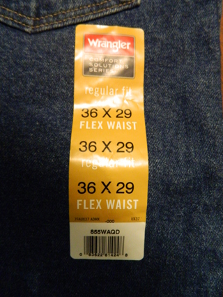 waistband series mens s picture of flex performance fit comforter black wrangler regular jean p comfort