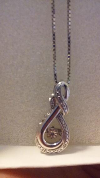Motion Diamond Necklace
