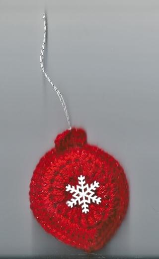 ONE Crochet Christmas Sachet