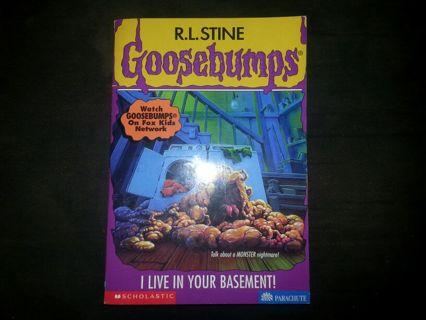 free goosebumps 61 i live in your basement fiction books listia