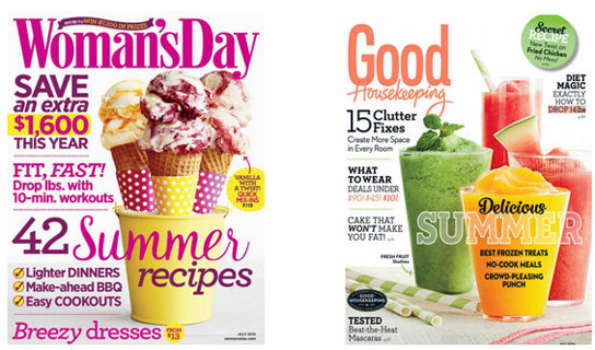 TWO year Good Housekeeping AND Woman's Day Magazines Subscriptions code (Mags delivered by MAIL)