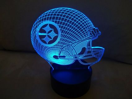 Pittsburgh Steelers 3D Multi Color Lamp