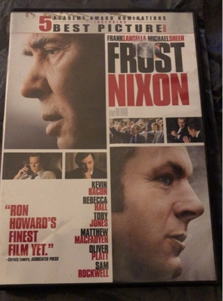 """Gently Used: DVD """"FROST-NIXON"""". 5 Academy Award Nominations! 2008"""