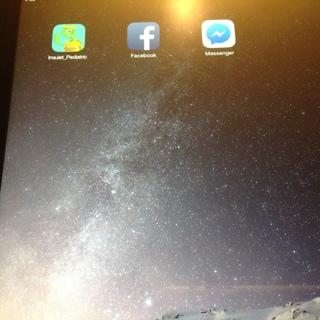 iPad 3 damaged.