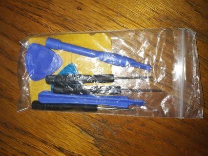 7 piece Video game cartridge or cell phone opener/repair kit