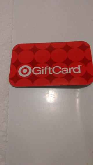 Target Gift Card 1.43 left on it!