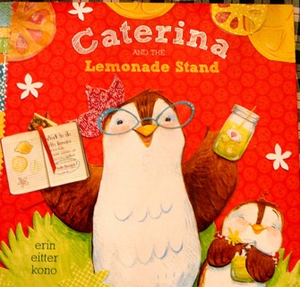 """Caterina and the Lemonade Stand"" Children's Reading Book"