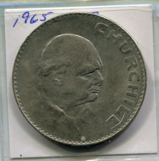1965 Great Britain-Churchill-Crown