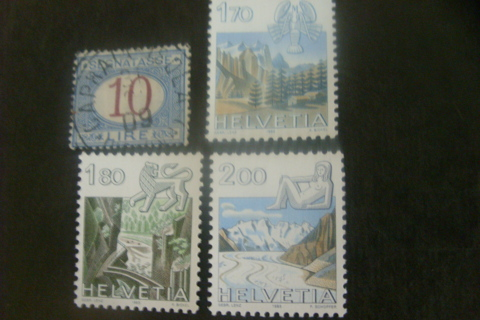 1870-1925 Italy & 1983 Switzerland CV $44.49