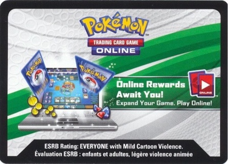 Pokémon Sun And Moon TCGO Code