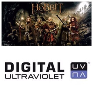 ✯The Hobbit: An Unexpected Journey (2012) Digital SD/UV Copy/Code✯