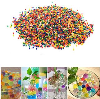 10000Pcs/Bag Pearl Shaped Crystal Soil Water Beads Mud Magic Home Decor Soil