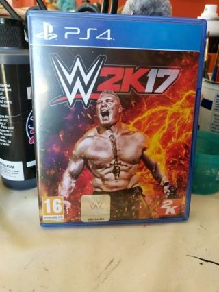 W2k17 PS4 Video Game