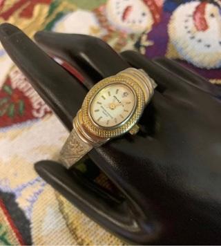 Vtg Milan Genuine Diamond Quartz Watch, New Battery, Runs Great!
