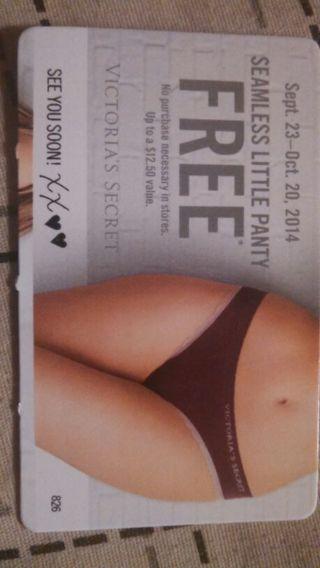 Free!! Victoria's Secret Seamless Little Panty!