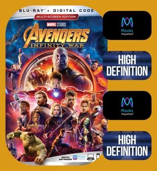 Avengers: Infinity War HD MA/DMR ONLY !!!!!!!