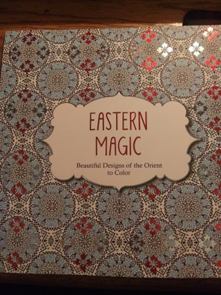 Eastern Magic Adult Coloring Book
