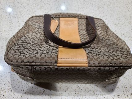 Coach make-up bag. Pre-owned