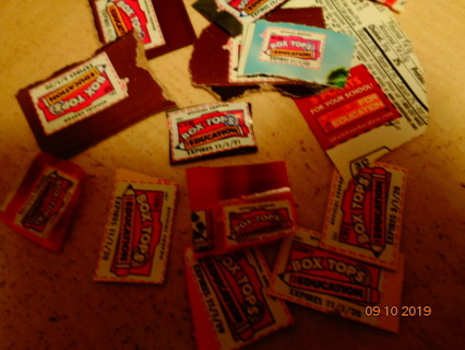 14 box tops for education