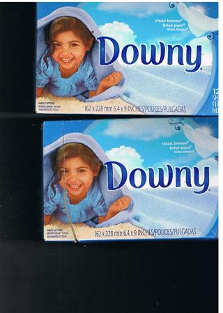 Downey Fabric Sheet Clean Breeze
