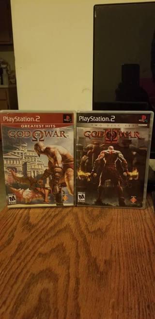 Free: God of War 1 & 2 PS2 - PlayStation Games - Listia com