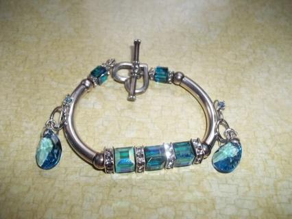 Sterling Silver Bracelet & Earrings
