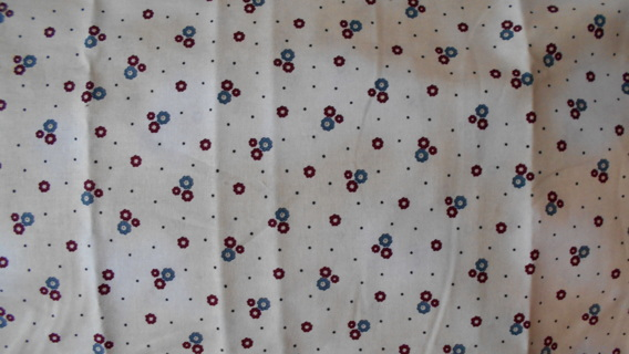 BEAUTIFUL SMALL FLORAL COTTON FABRIC