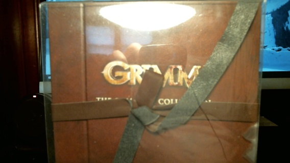 "New Sealed Unopened DVD Complete Collection: ""GRIMM"""