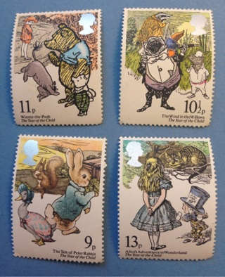 4 1979 British uncirculated stamps