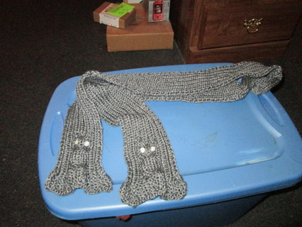 Free Knit Cable Owl Scarf Knitting Listia Com Auctions For Free