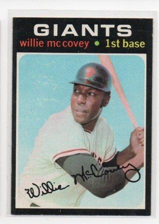1971 Topps Willie Mccovey