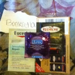 Eucerin Smoothing Repair Sample, Creme Caramel Tea Sample, Durex Condom