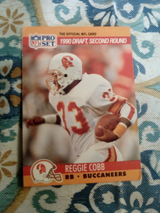 NFL pro set #699 Reggie Cobb