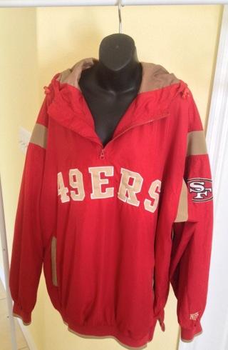 huge selection of f0ef8 eece7 Free: Authentic NFL Brand San Francisco 49ers Windbreaker ...