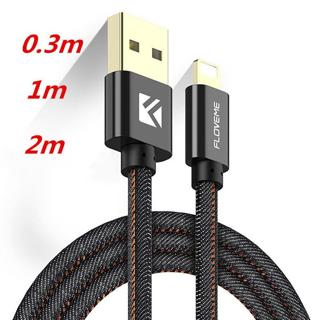 1M-2M Strong Braided USB Charger Cable For iPhone Lightning 8 7 6s Plus 5 5s SE