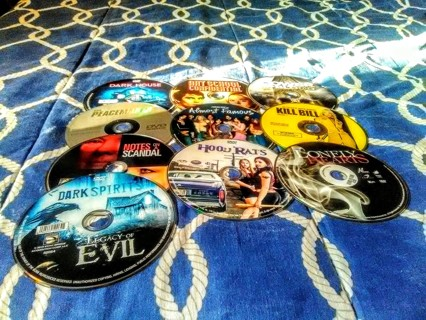 Lot of 10 dvd Movies - Rated R