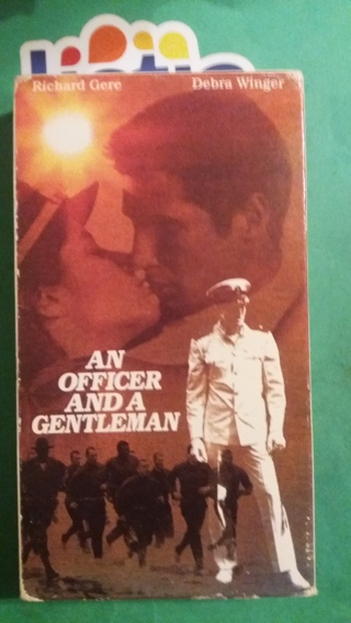 VHS movie  an officer and gentleman  free shipping