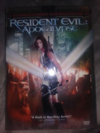 Resident Evil : Apocalypse DVD 2 disc set perfect condition