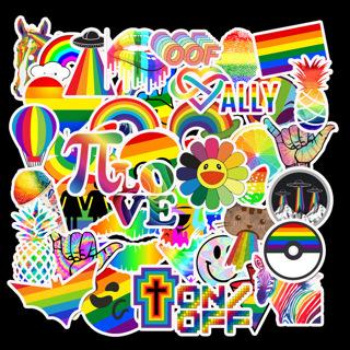 50Pcs Rainbow Sexy Graffiti Stickers For Gay LGBT Pride