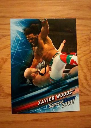 WWE 2019 Smackdown Live Xavier Woods Card