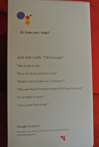 Google Home BNIB