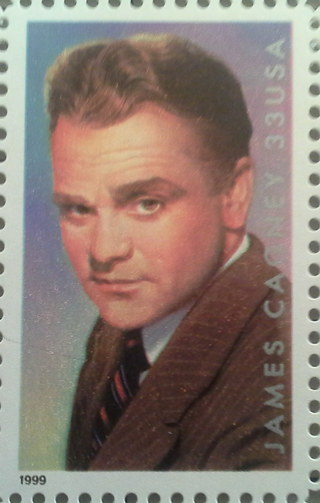 James Cagney 33 cent stamp out-of-print