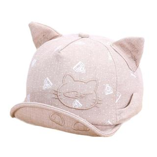 Lawadka Newborn Hats For Girls Cute Cat Baby Hat Girls Boys Caps Infant Summer Sun Hat With Ear Be