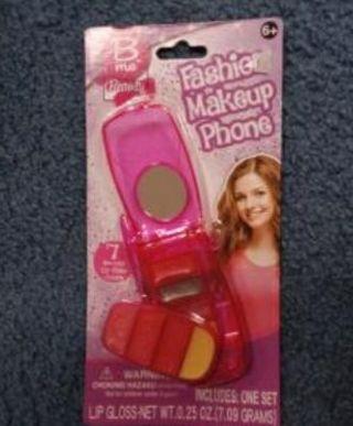Girls Fashion Makeup Phone, Lipgloss