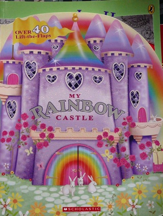 "Lift and Flip Book..""My Rainbow Castle"" book"