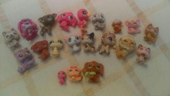 Littlest Pet Shop Pets LPS toys