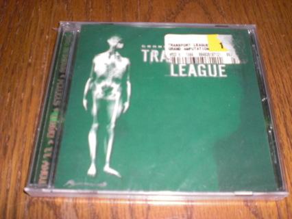 Transport League, Grand Amputation. New, Sealed CD. Metal.